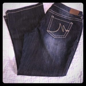NWOT 16S flare jeans
